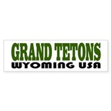 Grand Tetons Bumper Bumper Sticker