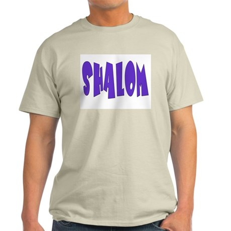 Hebrew Shalom Light T-Shirt