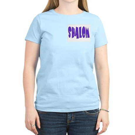 Hebrew Shalom Women's Light T-Shirt