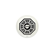 Dharma Hatch Mini Button (10 pack)