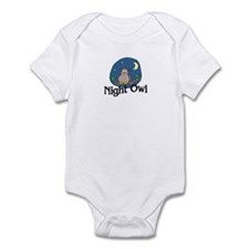 Night Owl Funny Baby/Toddler Bodysuit