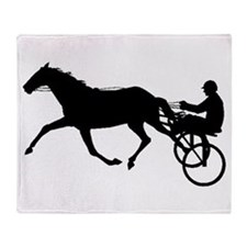 Harness Racing Throw Blanket