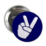 Peace Hand Button (10 pack)