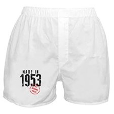 Made In 1953, All Original Parts Boxer Shorts