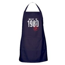 Made In 1980, All Original Parts Apron (dark)