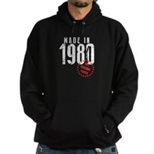 Made In 1980, All Original Parts Hoodie