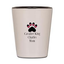 Cavalier King Charles Mom Shot Glass