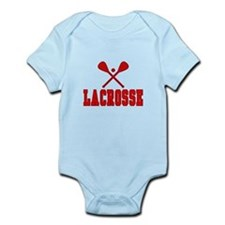Lacrosse Red Body Suit