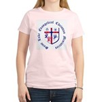 St. Luke's Women's Light T-Shirt w/large graphic.