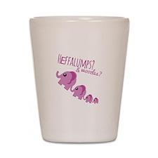 Heffalumps? Shot Glass