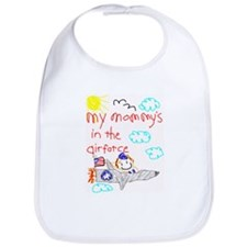 Airforce Mommy! Bib