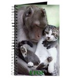 Cute Exotic cat Journal