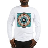 White Buffalo Medicine Wheel - Long Sleeve T-Shirt