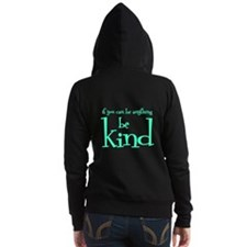 BE KIND (2-sided) Women's Zip Hoodie