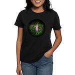 Pink Lady's Slipper Women's Dark T-Shirt