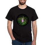 Pink Lady's Slipper Dark T-Shirt