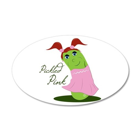 Pickled Pink Wall Decal