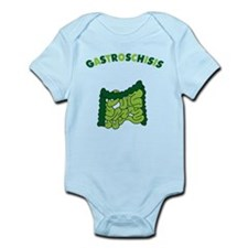 Funny Gastroschisis awareness ribbon Infant Bodysuit