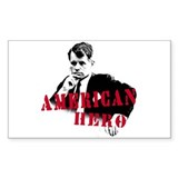 RFK American Hero Rectangle  Aufkleber