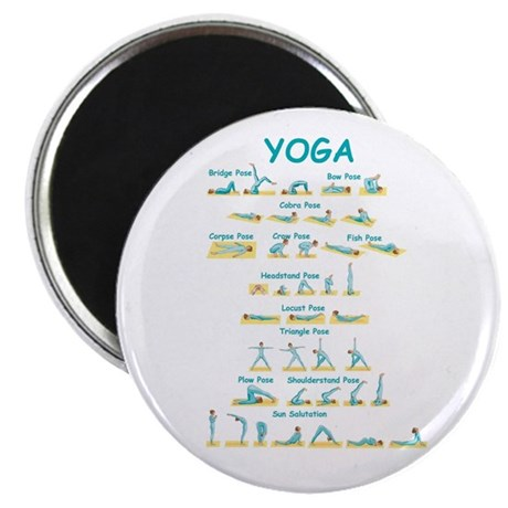 Yoga Poses Magnet