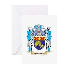 Franklin Coat of Arms - Family Crest Greeting Card