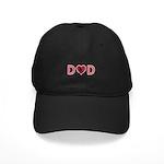 Dad Heart Black Cap