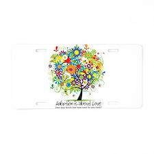 Unique Adoption Aluminum License Plate
