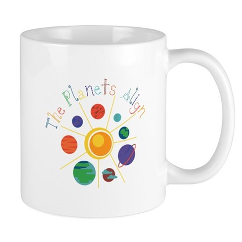The Planets Align Mugs