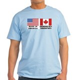 Engineered With Canadian Parts T-Shirt