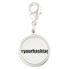 Customizable Hashtag Charms