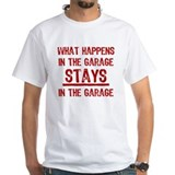 Stays In The Garage Shirt