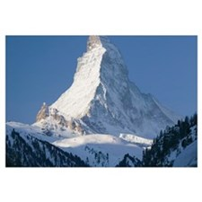 ZERMATT: The Matterhorn / Morning / Winteratterhor