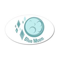Blue Moon Wall Decal