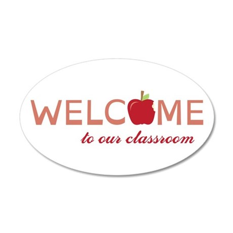 Welcome To Class Wall Decal