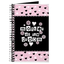 Hearts Mother of the Groom Journal