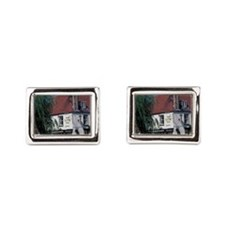Europe, England, Cambridgesh Rectangular Cufflinks