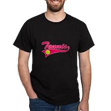 Pink Tennis T-Shirt