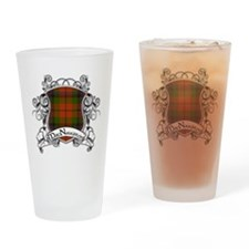 MacNaughton Tartan Shield Drinking Glass
