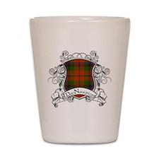 MacNaughton Tartan Shield Shot Glass
