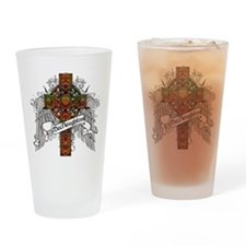 MacNaughton Tartan Cross Drinking Glass