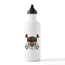 MacNamara Tartan Skull Water Bottle