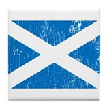 Vintage Scotland Tile Coaster