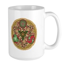 Celtic Reindeer Shield Mug