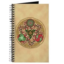 Celtic Reindeer Shield Journal