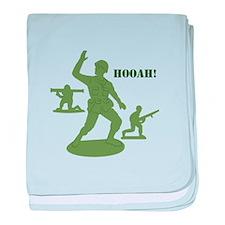 Hooah! baby blanket