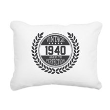 Vintage 1940 Aged To Perfection Rectangular Canvas