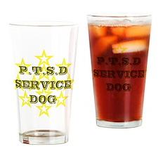 SERVICE DOG Drinking Glass
