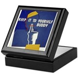 Keep it to Yourself Buddy Keepsake Box