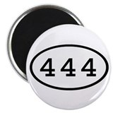 "444 Oval 2.25"" Magnet (100 pack)"