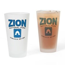 Zion National Park Drinking Glass
